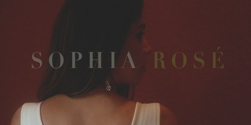 Sophia Rose's Cover Photo