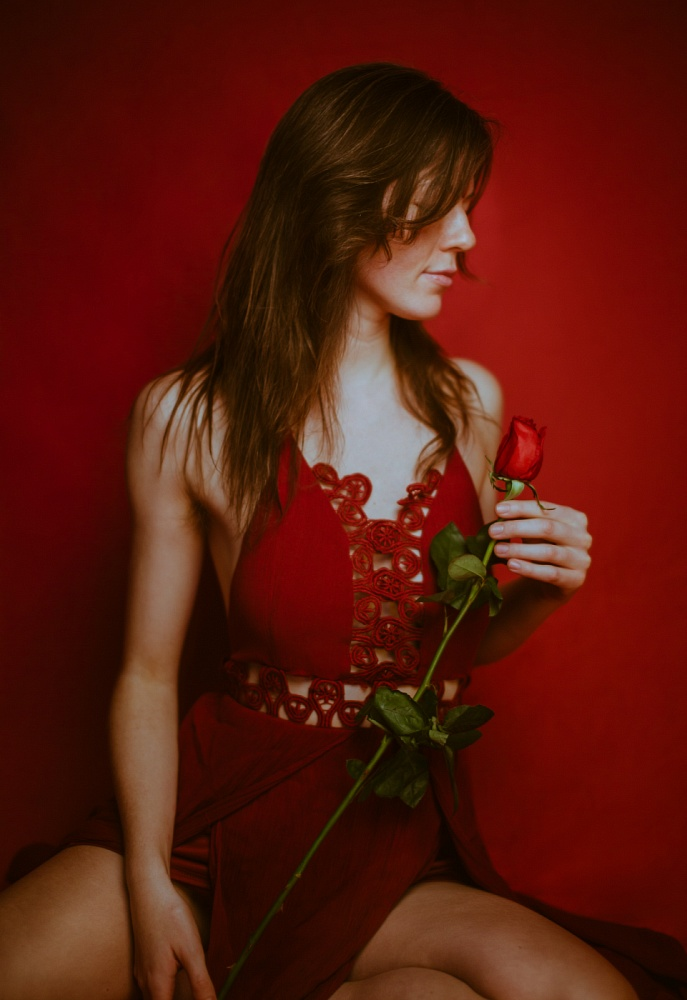 Goddess Freia Rose