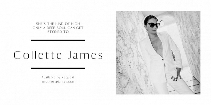 Collette James's Cover Photo