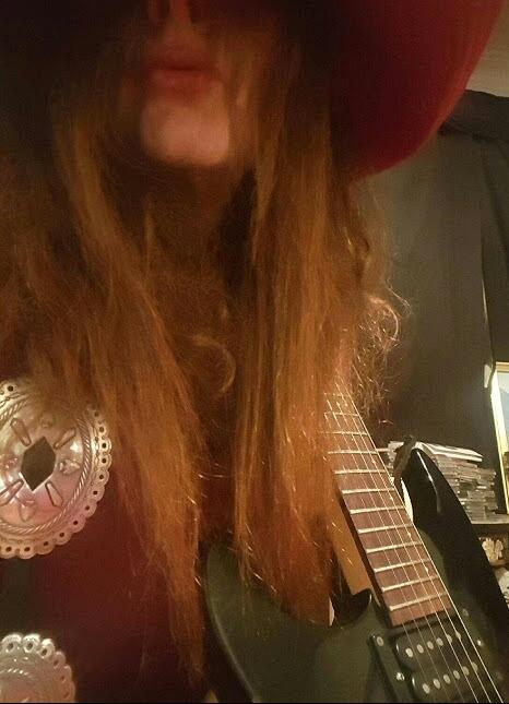 Attractive Female Lead Guitarist