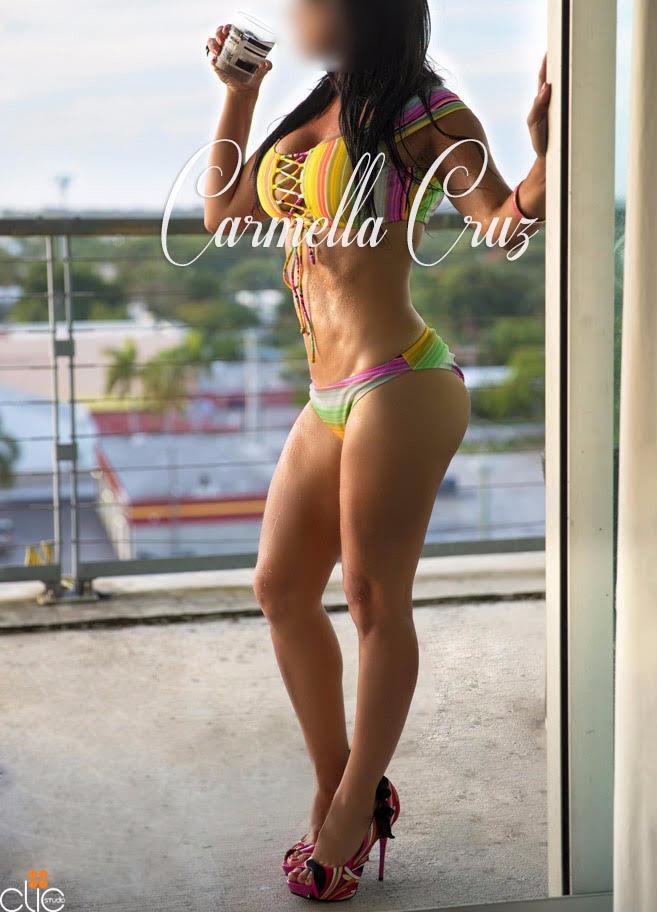 Carmella Cruz Bikini Model