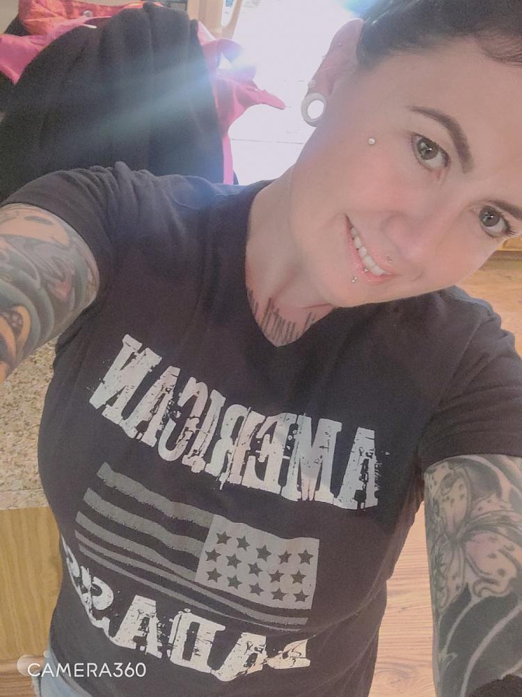 Tattooed beauty