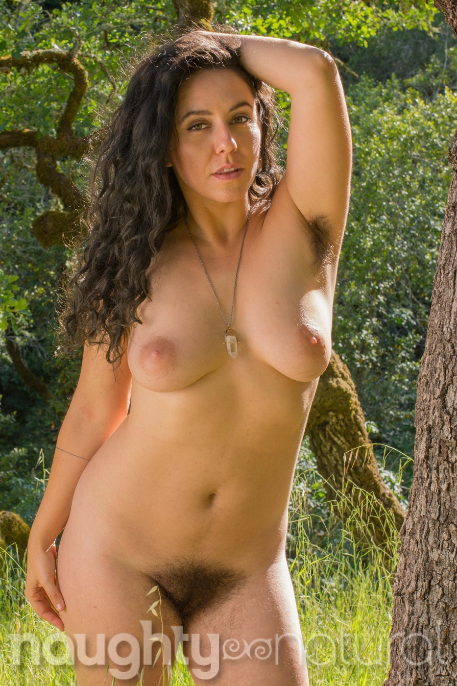 Hairy Nikki Silver - All Natural